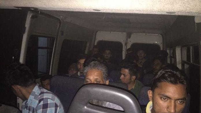 Edirne'de Kaçak Göçmen Operasyonu Yapıldı