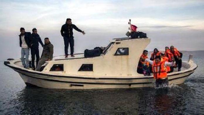O Adaya Mülteciler Akın ediyor ! Tam 3600 Mülteci !
