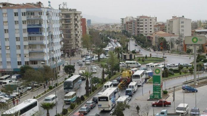Aydın'da Toplam Araç Sayısı 395 Bin 250 Oldu