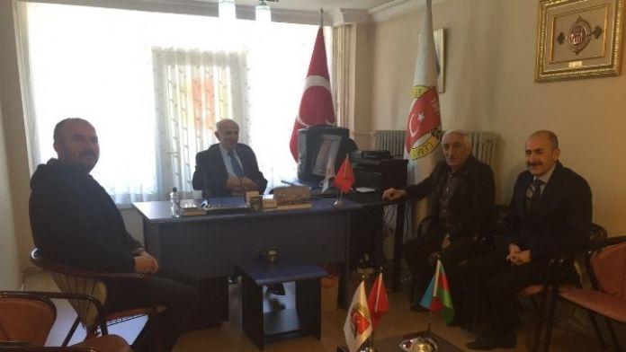 Vali Odabaş'tan Gazeteciler Cemiyetine Veda Ziyareti