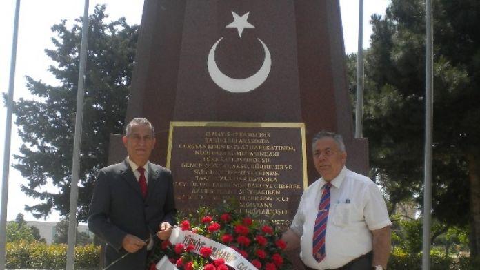 Türkiye Ve Azerbaycan'lı Eski Askerler Kucaklaştı