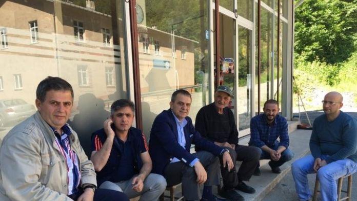 Başkan Sağıroğlu Oymalı Mahallesi'ni Gezdi