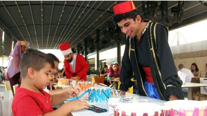 Minik Eller Ramazan Davullarını Renklendirdi