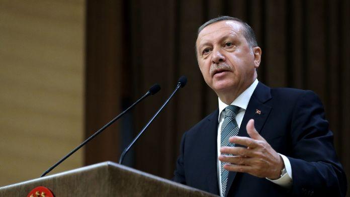 Erdoğan Orgeneral Mendi'yi kutladı