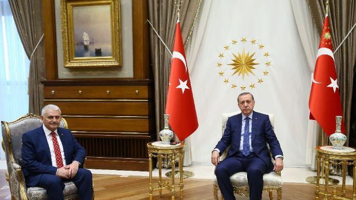 Erdoğan ve Yıldırım'dan Rus mevkidaşlarına tebrik
