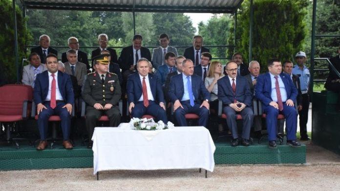 Keleş 'Jandarmanın Terörle Mücadelesi Takdire Şayandır'