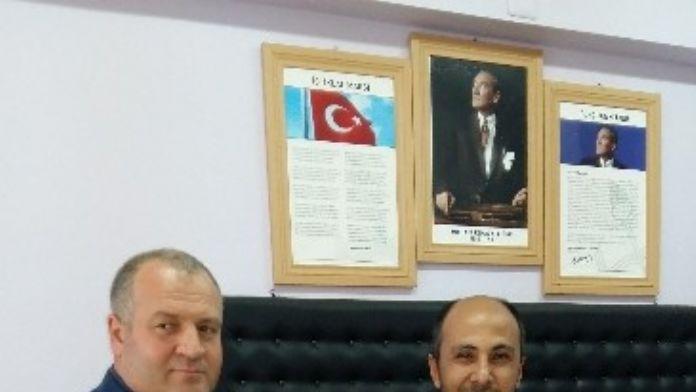 ASİMDER'den Müdür Yardımcısı Bayat'a Ziyaret