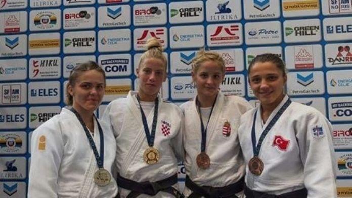 Osmangazili Judocu Avrupa Üçüncüsü