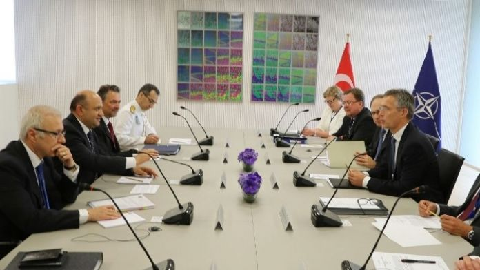 Bakan Işık, NATO Genel Sekreteri Stoltenberg'le Görüştü