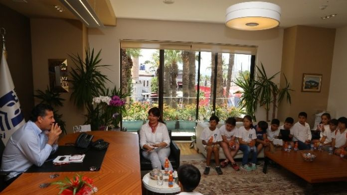 Bodrum'da Umurca İlkokulu'ndan Ziyaret