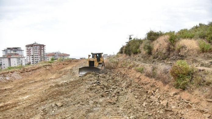 Alanya Belediyesi Yol Çalışmaları