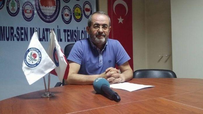 Memur-sen Malatya İl Başkanı Kerem Yıldırım: