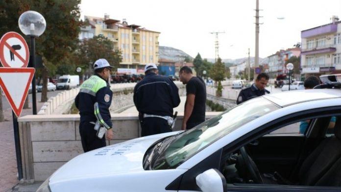Burdur'da 573 Sürücüye 163 Bin TL Ceza Kesildi