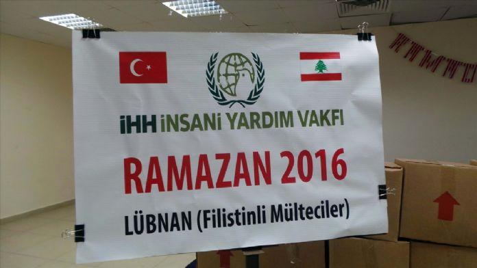 İHH'dan Lübnan'daki mültecilere ramazan yardımı