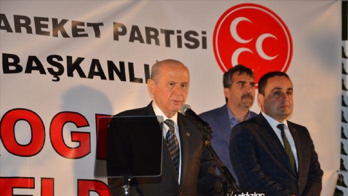 MHP Genel Başkanı Bahçeli Konya'da: