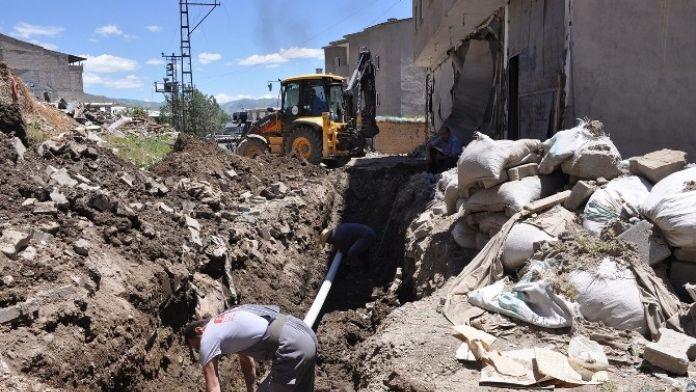 Çatışmaların Yaşandığı Mahallelere Aylar Sonra Su Verilecek