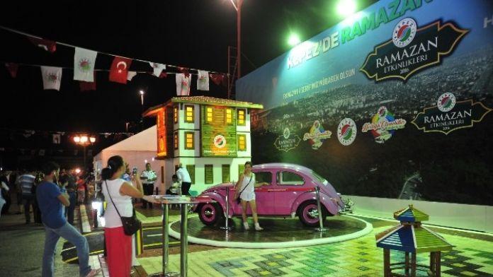 Kepez'in Otomobilleri Ramazan Standında