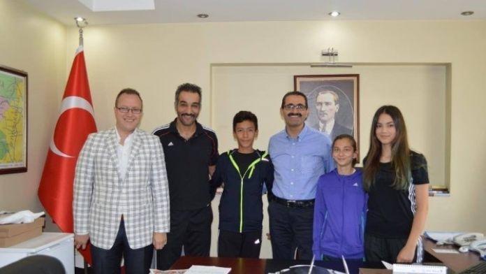 Uşak'ta Taekwondoya Olan İlgi Artıyor