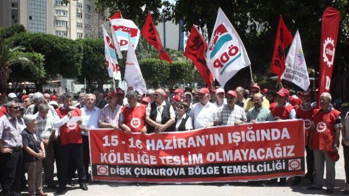 DİSK'ten Kiralık İşçi Yasasına Tepki