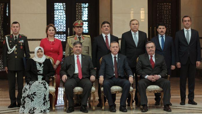 Irak Büyükelçisi Beştepe'de