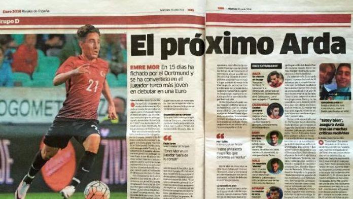 Marca, Emre Mor için 'Yeni Arda Turan'