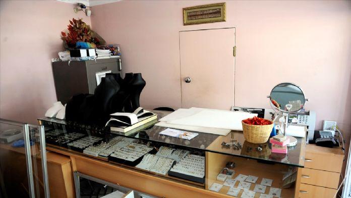 Çanakkale'de kuyumcudan hırsızlık