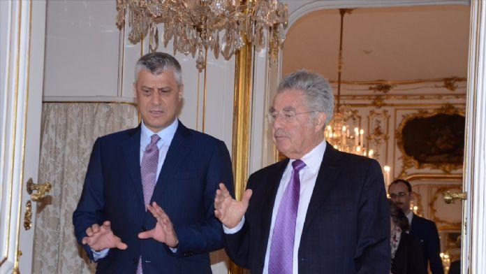 Kosova Cumhurbaşkanı Taçi'nin Viyana ziyareti
