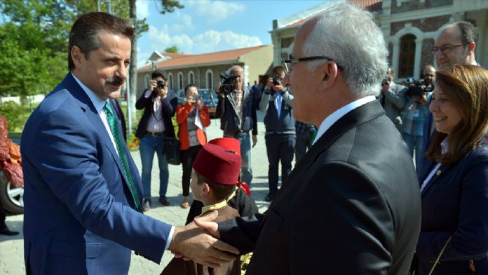 Gıda Tarım ve Hayvancılık Bakanı Çelik, Eskişehir'de