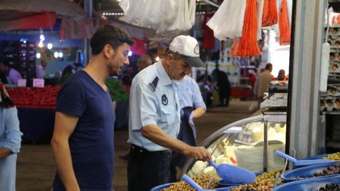 Zabıta Müdürlüğünden Ramazanda Pazaryerinde Sıkı Denetim