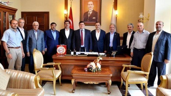 Memur-sen'den Vali Arslantaş'a Hoşgeldin Ziyareti