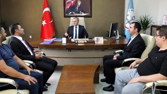 Kapadokya Gazeteciler Cemiyeti, Milli Eğitim Müdürü Demir'i Ziyaret Etti