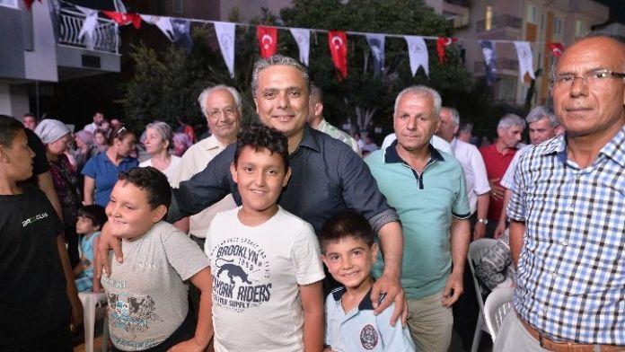 Başkan Uysal'a Çocuklardan İlgi