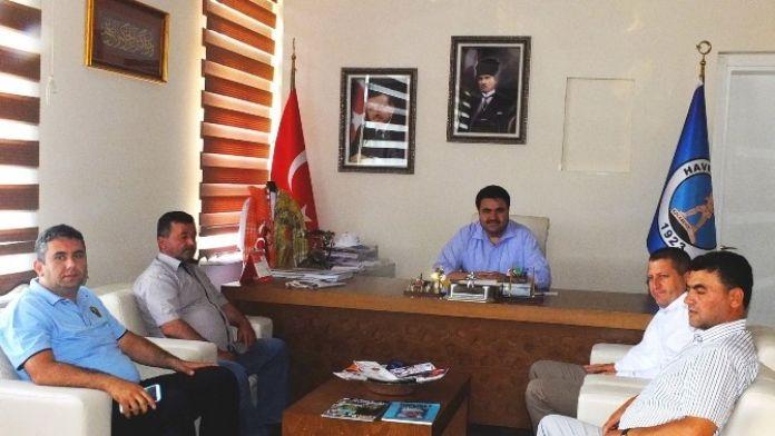 Yeni Müdürden Başkan Ersoy'a Nezaket Ziyareti