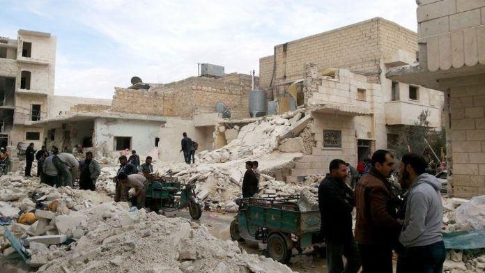Halep'i Ateşkesle Birlikte Sessizlik Aldı