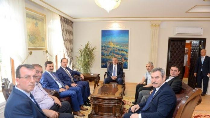 ETB'den Vali Özdemir'e Ziyaret