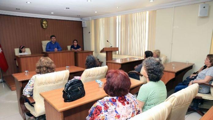 Antalya Ckd'den Başkan Ercengiz'e Ziyaret