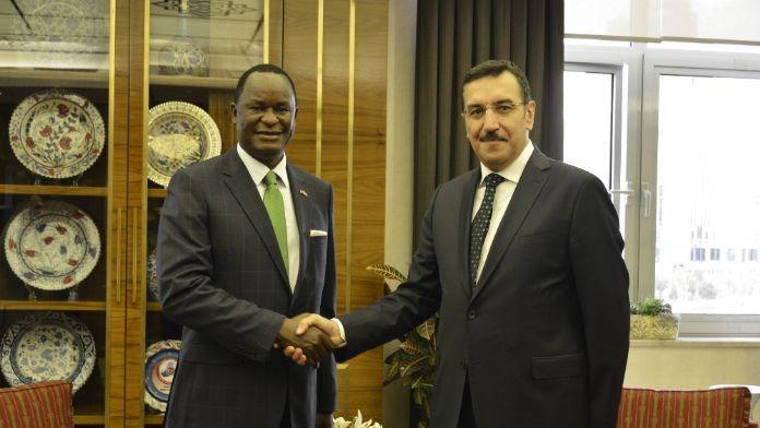Bakan Tüfenkçi, Kenya Büyükelçisini kabul etti