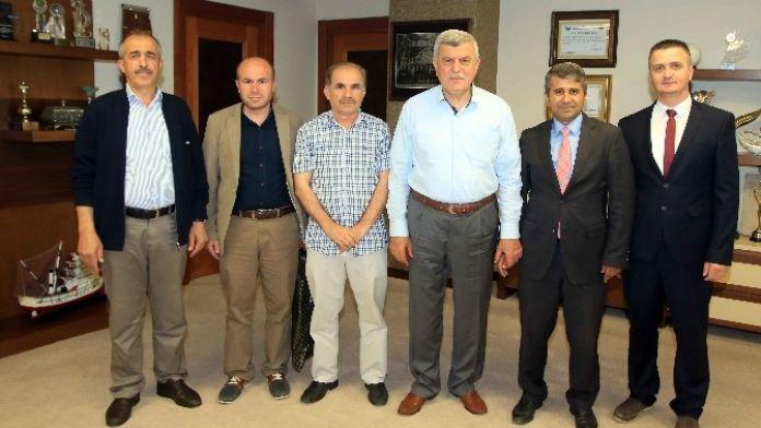 Başkan Karaosmanoğlu Esnaf Odalarını Ağırladı