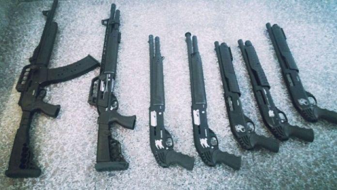 Plakasız Otomobilde Ruhsatsız Av Tüfeği