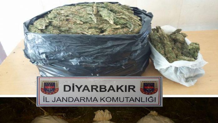 Polis uyuşturucu tacirlerine geçit vermiyor  ! Tam 52 kg Esrar !