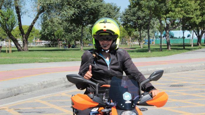 Kadına şiddete dikkat çekmek için Kuzey Kutpu'na gidiyor
