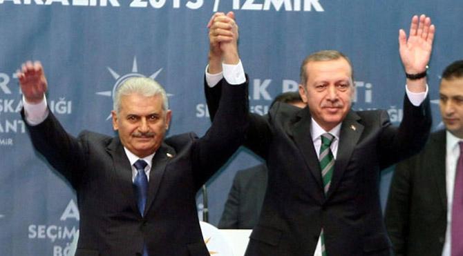 Cumhurbaşkanı ve Başbakan Cumhurbaşkanlığı Külliyesinde