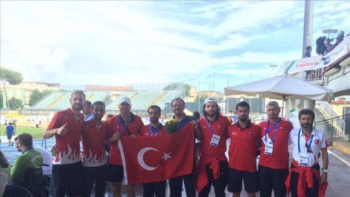 Görme engelli atletlerden 8 madalya