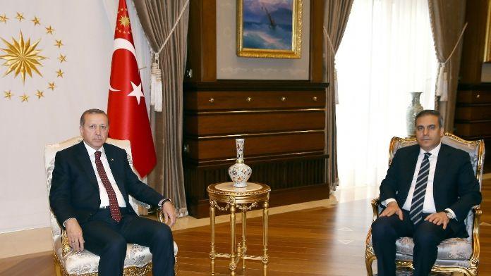 MİT Müsteşarı Fidan Külliye'ye çıktı