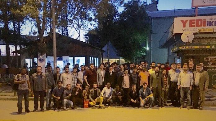 AK Parti'den 'Misafir Öğrenci Kardeşlik İftarı'