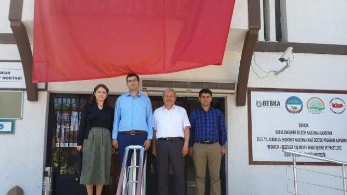 Savcı Ve Hakime Hanımdan Osmaneli Belediye Başkanı Şahin'e Veda Ziyareti