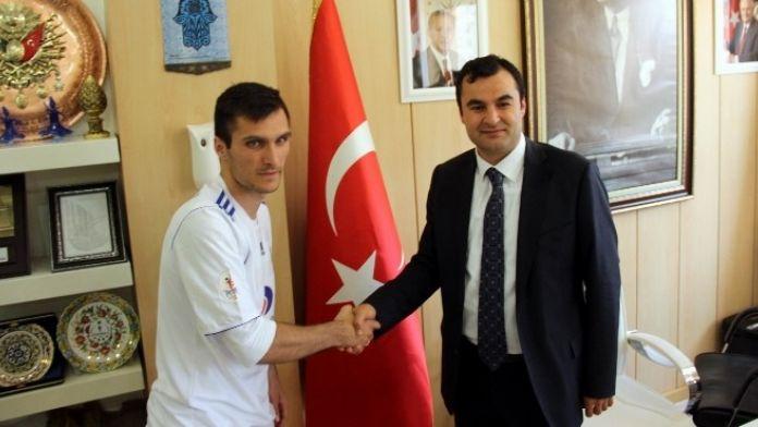 Gaziantep Büyükşehir Belediyespor, Marınkovıc İle Sözleşme İmzaladı