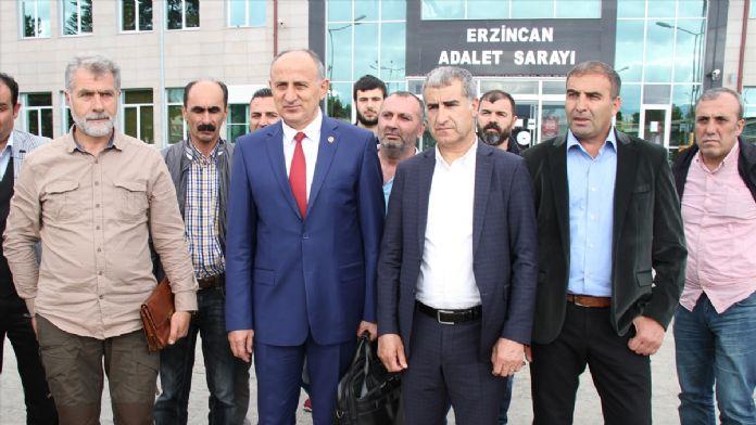 Erzincan'daki 'Ergenekon davasında kumpas' davası