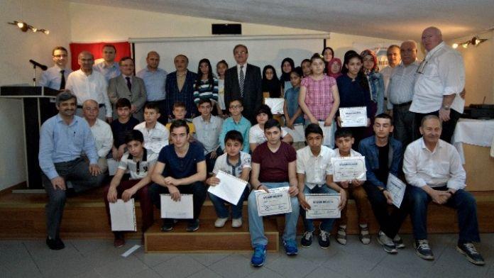 Çamlıca Eğitim Kültür Ve Sosyal Hizmetler Derneği'nde 'Huzura Doğru Siyer-i Nebi Yarışması'
