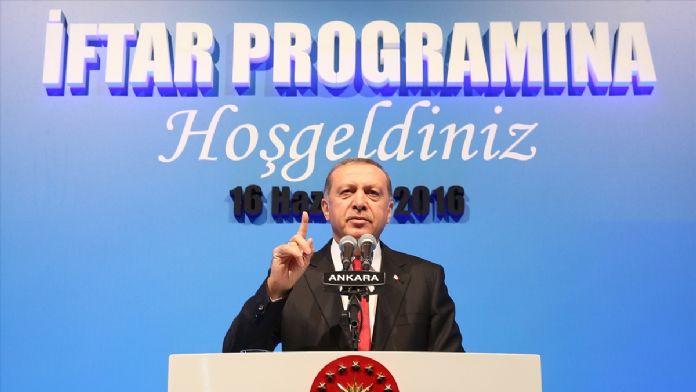 Cumhurbaşkanı Erdoğan: 'Ülkenin ve milletin menfaatlerine sal
